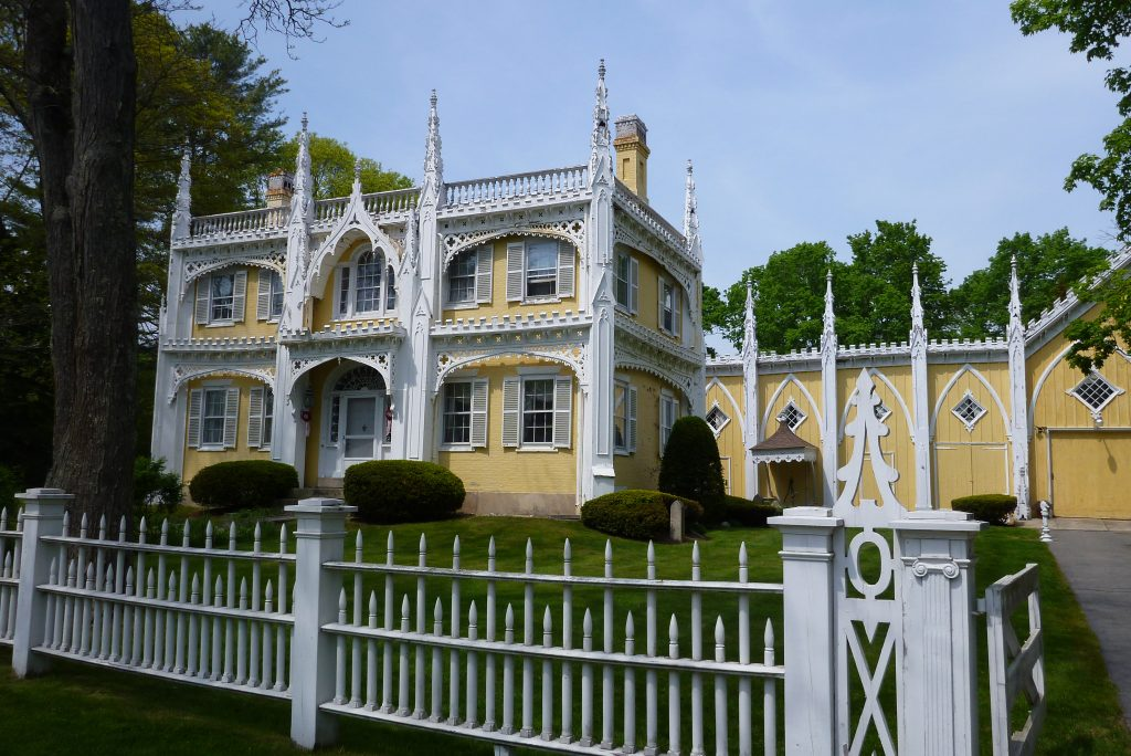 The Wedding Cake House  - Supposedly the most photographed house in Maine.