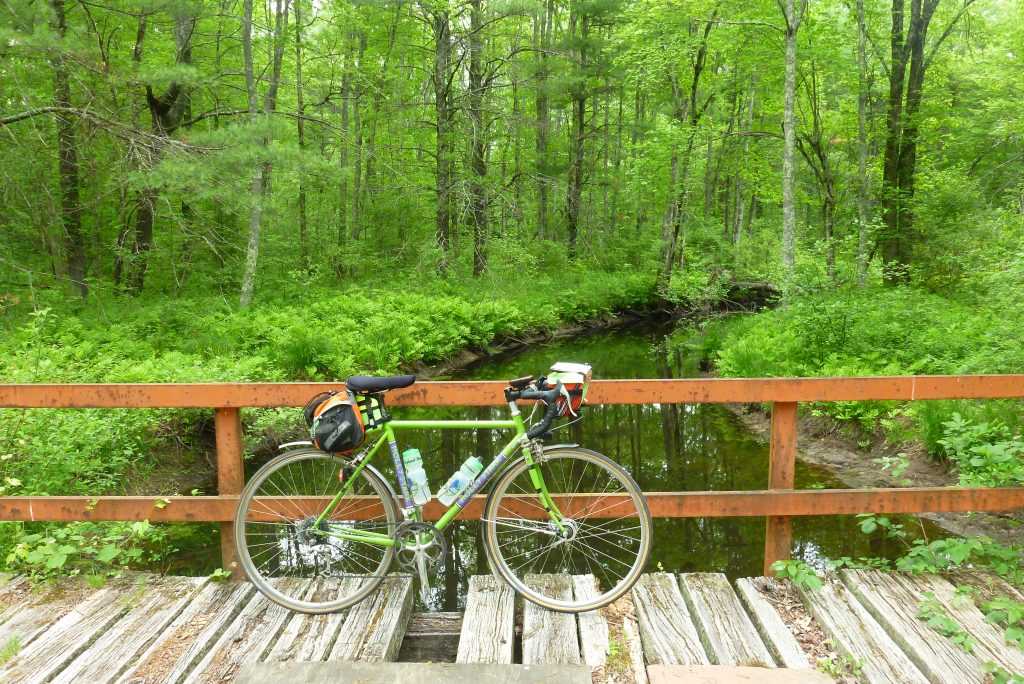 One of the reasons for pre-riding routes is to catch roads which are scenic but unsuitable for night riding, such as Cuba Road outside Lee, NH.