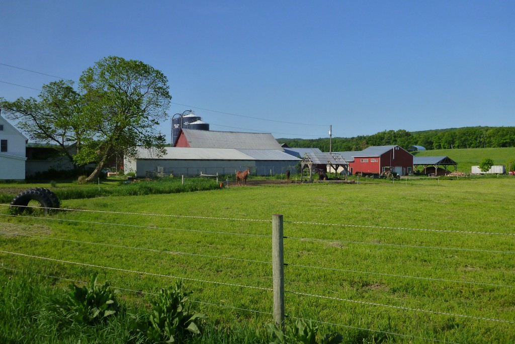 One of hundreds of farms seen on the 600k. This is in Vermont south of Brattleboro.