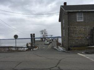 A ferry dock